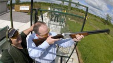 foymore Lodge Clay pigeon shooting
